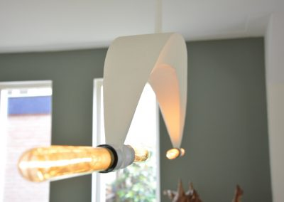 Stalen lamp